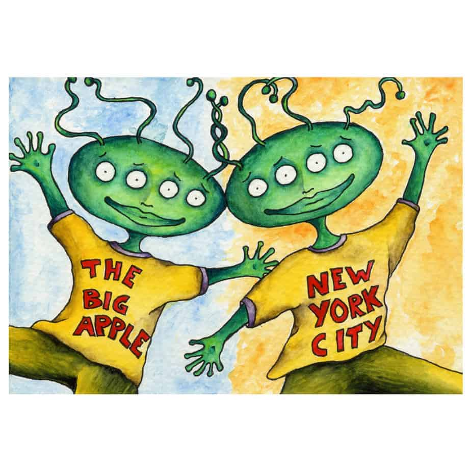 Alien Friends in New York City