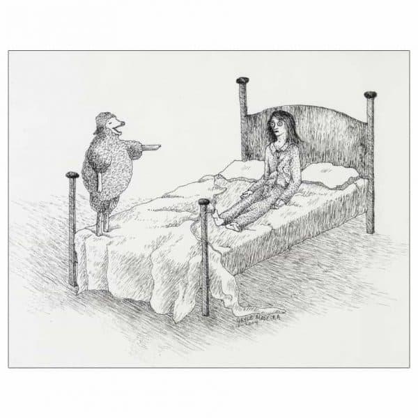 Insomnia Sheep Laughing